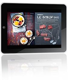 Saveurs sur iPad et iPhone